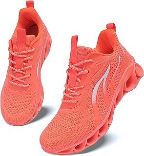 أحذية الركض النسائية غير القابلة للانزلاق أحذية رياضية للتنس الرياضية أحذية المشي الرياضية, (جيه-اورانج), 37 EU