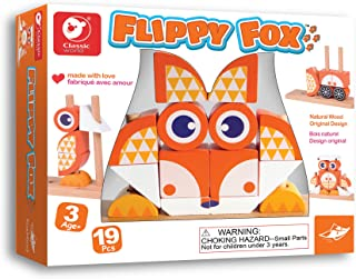 Foxmind, Games Flippy Fox Puzzle Board, Brain Games for Kids