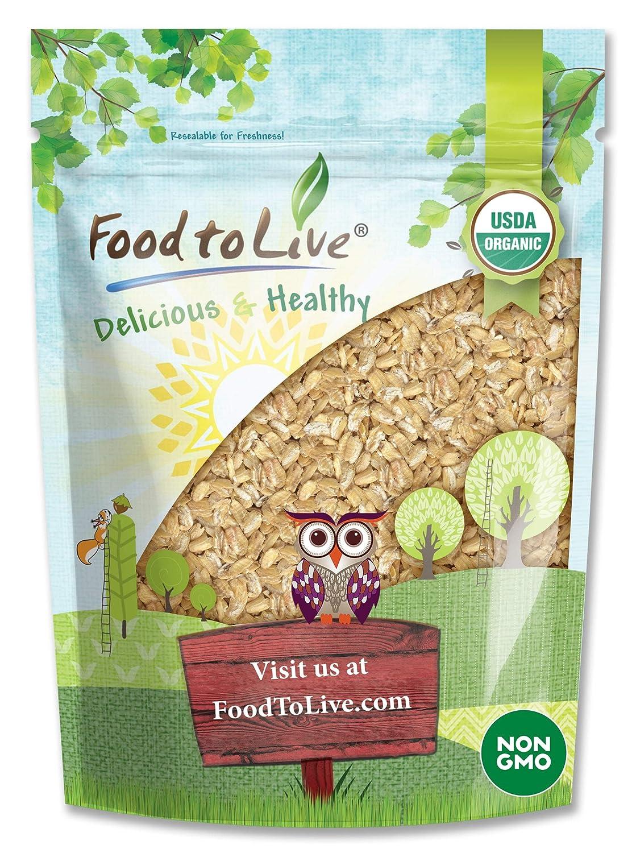 Organic Rolled KAMUT Khorasan Wheat Max Cheap bargain 83% OFF Flakes 1.5 - Non-GMO Pounds