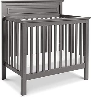 DaVinci Autumn 4-in-1 Convertible Mini Crib in Slate | Greenguard Gold Certified