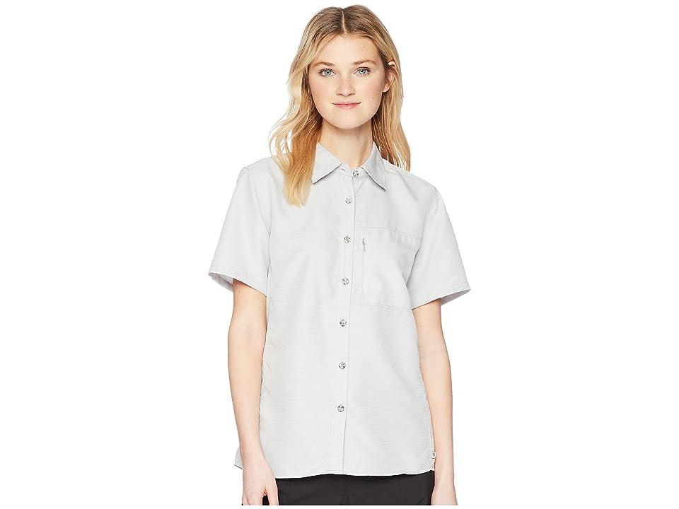 Mountain Hardwear Canyontm Short Sleeve Shirt (Steam) Women