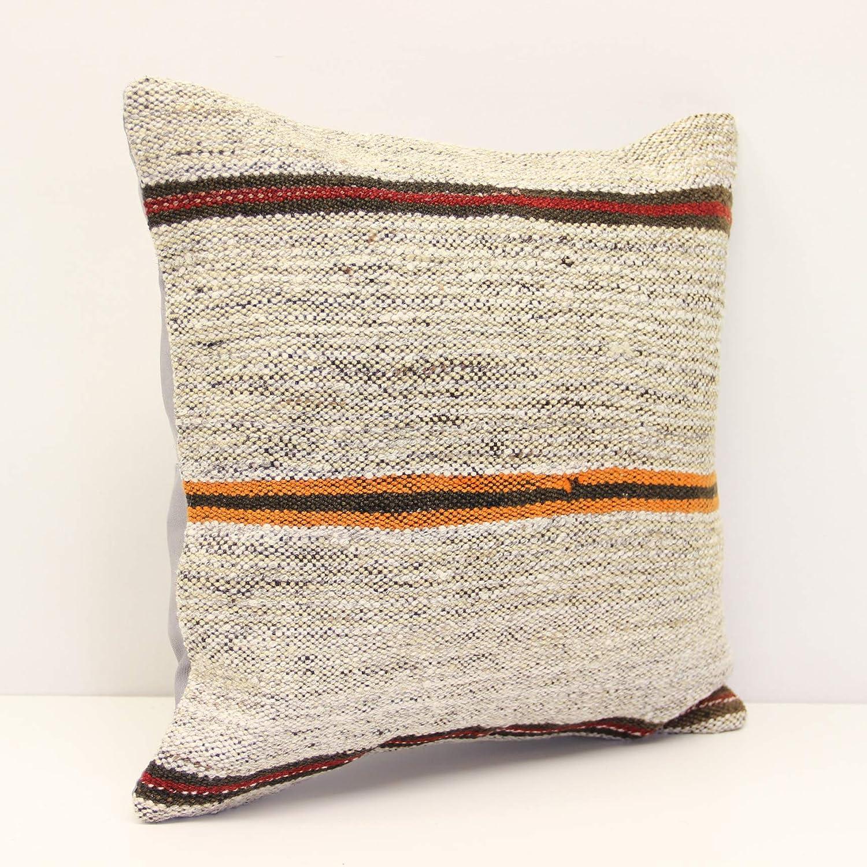 Max 80% OFF Handmade Kilim pillow 16x16 inch Albuquerque Mall Decorative cm 40x40 Bo