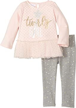 Mud Pie - Sparkle Tunic & Leggings Set (Infant)