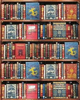 Bodleian Library ST1299 Christmas Bookshelf-8 x 10 Advent Calendar