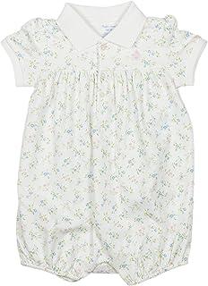 (ラルフローレン)RALPH LAUREN ベビー 女の子 ショートオール Floral Interlock Shortall ホワイト マルチ White Multi [並行輸入品]