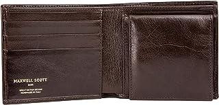 Maxwell Scott - Portafoglio personalizzato in pelle italiana con portamonete - Ticciano