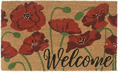 Lewis Hyman Garden Path Door Mats, Cream Brown