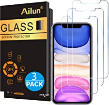 Ailun Glass Screen Protector for iPhone 11/iPhone XR 6.1...