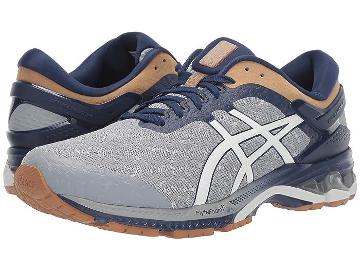 ASICS  GEL-Kayano 26 (Glacier Grey/Glacier) Mens Running Shoes
