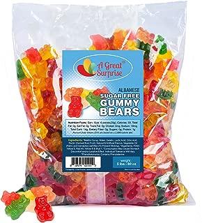 Sugar Free Gummy Bears – Sugar Free Candy – Gummy Bears Bulk – Bulk Candy – 5 Pounds