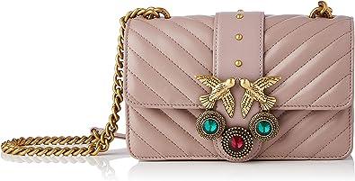 Pinko, Love Mini Icon V Quilt CL Shee para Mujer, Talla única