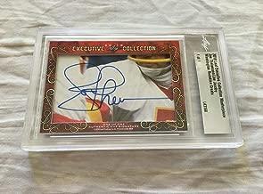 Joe Theismann Joe Jacoby 2018 Leaf Masterpiece Cut Signature signed auto 1/1 - JSA Certified - NFL Cut Signatures
