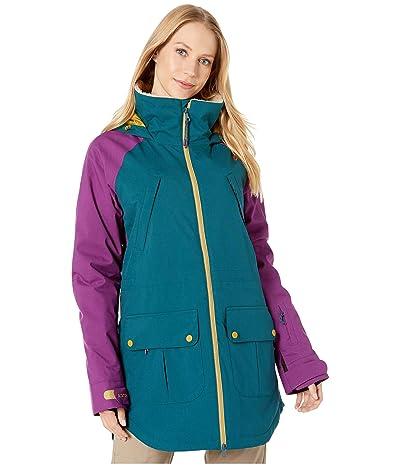 Burton Prowess Jacket (Deep Teal/Charisma/Evilo) Women