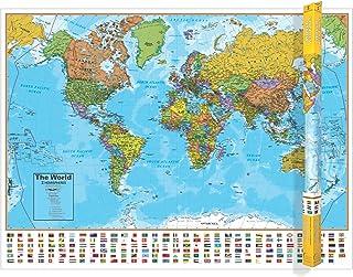 Hemispheres World Map