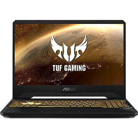 "ASUS TUF Gaming FX505DU-BQ045 - Portátil Gaming de 15.6"" FullHD (Ryzen 7 3750H, 8GB RAM, 256GB SSD, GeForce GTX1660Ti-6GB, Sin Sistema Operativo) Negro - Teclado QWERTY Español"