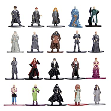 """Harry Potter 1.65"""" Die-cast Metal Collectible Figures 20-Pack Wave 3, Toys for Kids and Adults"""