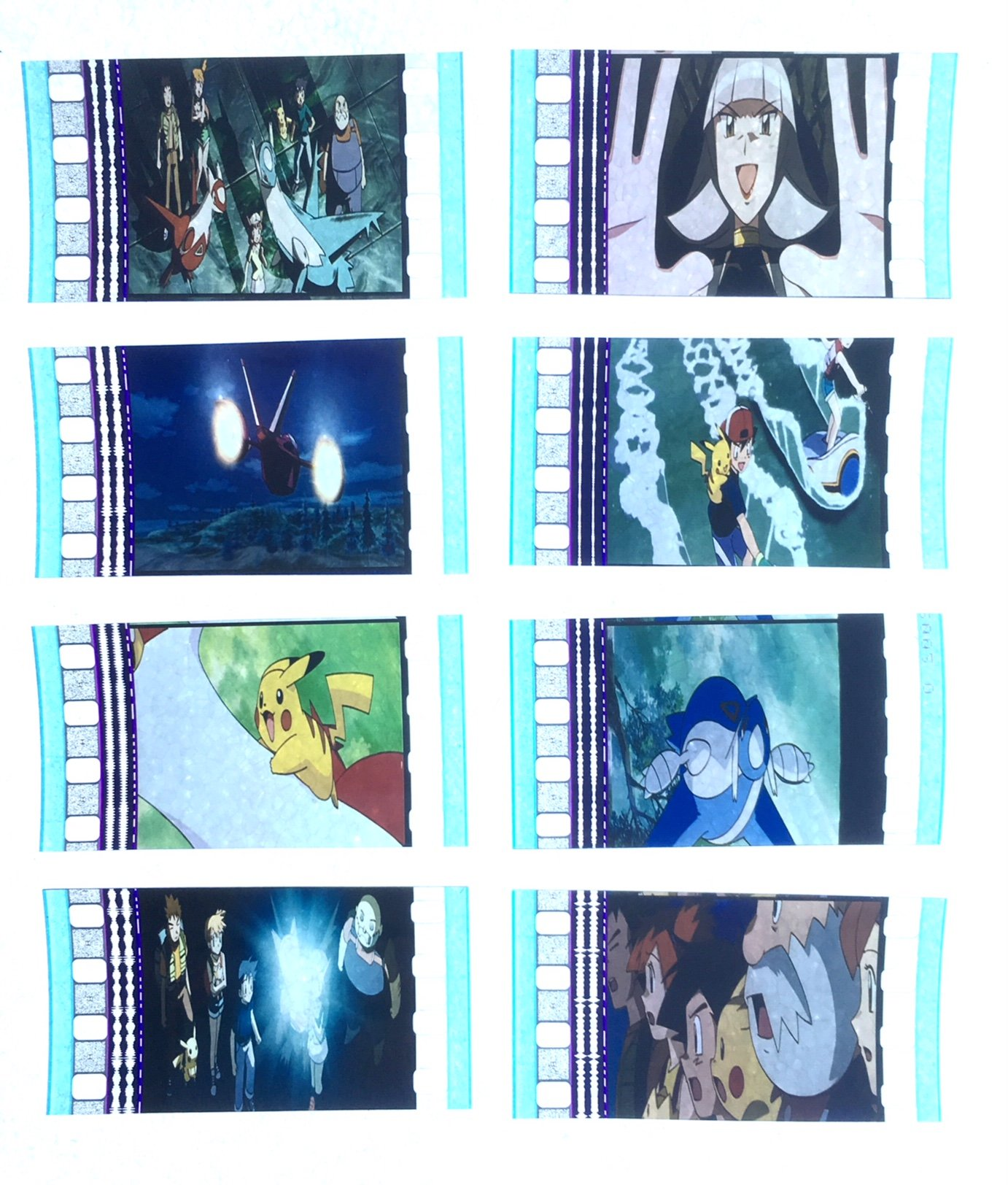 Pokemon 5 Pokemon Heroes Latios and Latias (2002) 35mm Movie Film Cell  Pack: Amazon.co.uk: Kitchen & Home