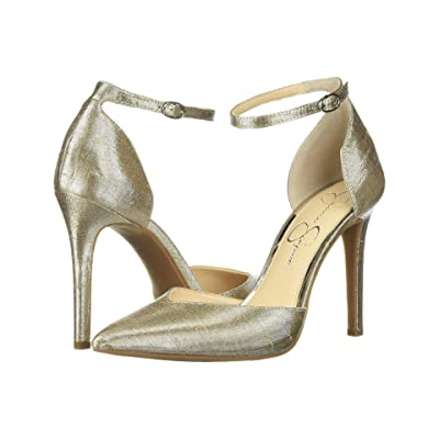 Jessica Simpson Cirrus (Shimmer Silver) High Heels