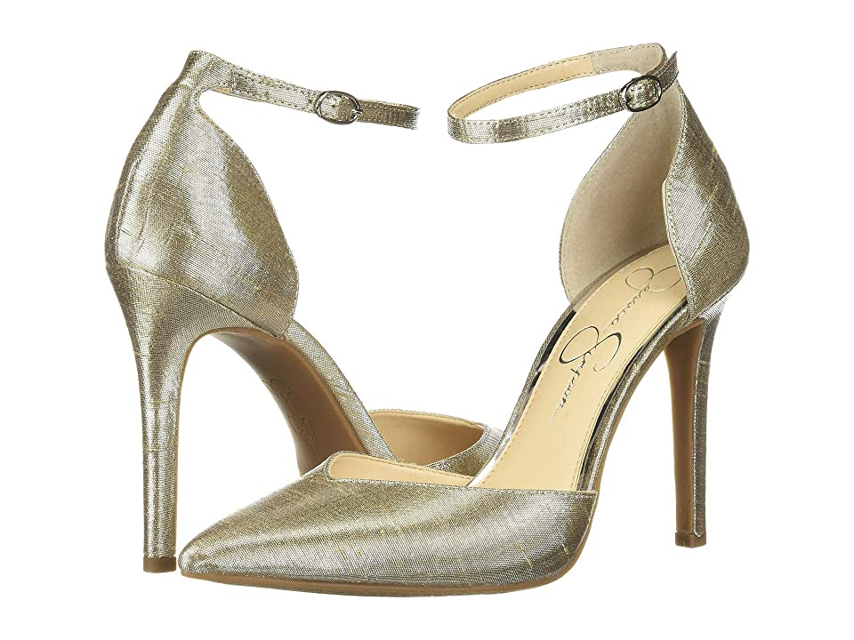 Jessica Simpson Cirrus (Shimmer Silver) High Heels