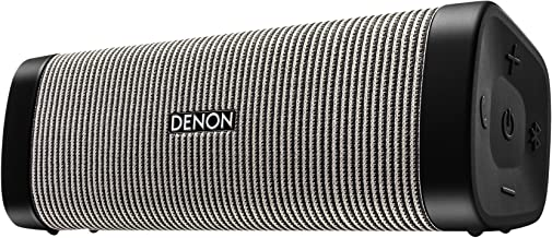 "Denon DSB-250BT Envaya Portable Bluetooth 8.25"" Speaker (Gray) - Lightweight, Waterproof & Dustproof 