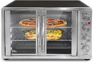 Maxi-Matic Double Door Toaster Oven Rotisserie, Bake, Grill, Broil, Roast, Toast, Keep..