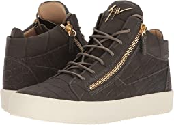 Giuseppe Zanotti - May London Stamped Mid Top Sneaker