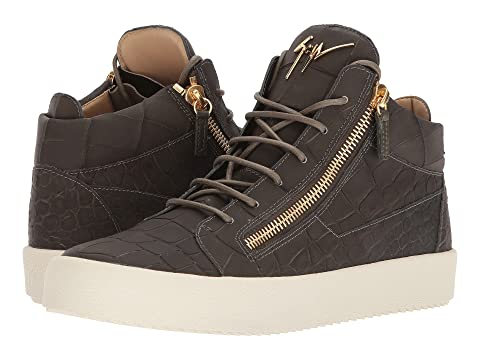 Giuseppe ZanottiMay London Stamped Mid Top Sneaker kc0ODEAV