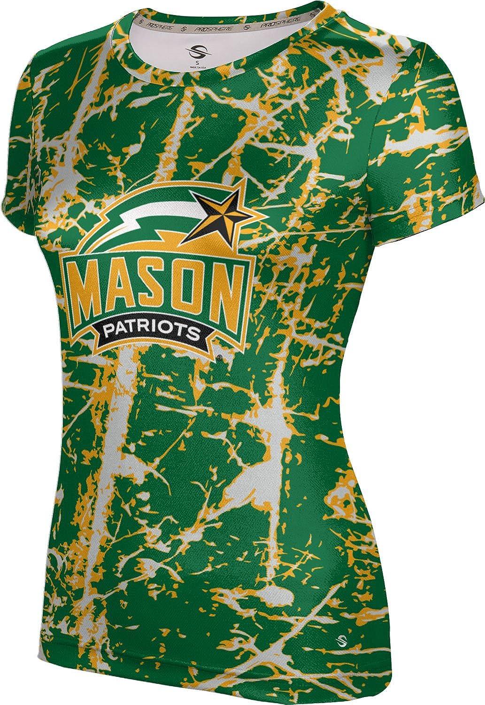 ProSphere George Mason University Girls' Performance T-Shirt (Distressed)