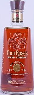 Four Roses 120th Anniversary Limited Edition 12 Years Single Barrel 7-1F Kentucky Straight Bourbon Whiskey Barrel Strength 52,4% Vol. - eine von 2238 Flaschen!