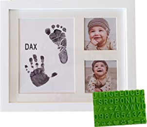 Best footprint picture frames for babies