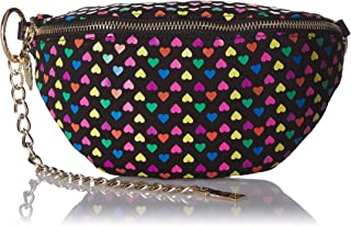 Betsey Johnson Heart on My Sleeve Fannypack