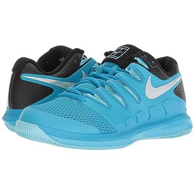 Nike Air Zoom Vapor X (Light Blue Fury/Multicolor Bleached Aqua) Women