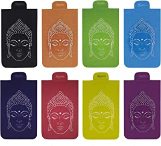Heartzy Set of 8 Buddha Magnetic Bookmark Combo | Gift for Booklovers