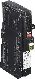 Square D by Schneider Electric QO120PCAFI  20-Amp Single-Pole Plug-On Neutral CAFCI Circuit Breaker