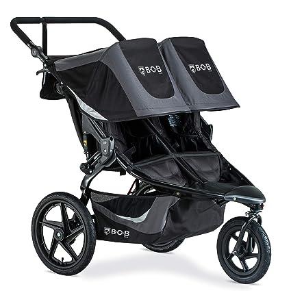 BOB Gear Revolution Flex 3.0 Duallie - Best Double Jogging Stroller for Tall Toddler