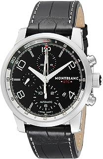 Montblanc - Reloj de hombre automático 43mm correa de cuero de cocodrilo 107336