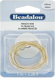 Beadalon French Wire/Bullion, Gold Color