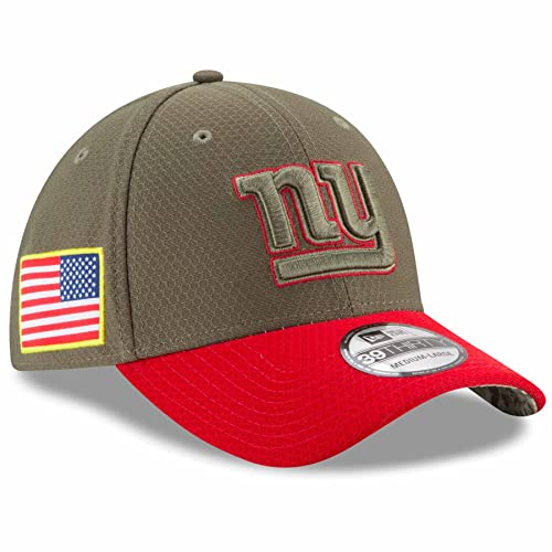 another chance 80167 4646a New Era New York Giants NFL 39THIRTY 2017 Sideline Salute to Service Hat