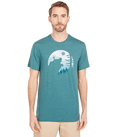 Life is Good Into The Wild Cool Teetm (Spruce Green) Men