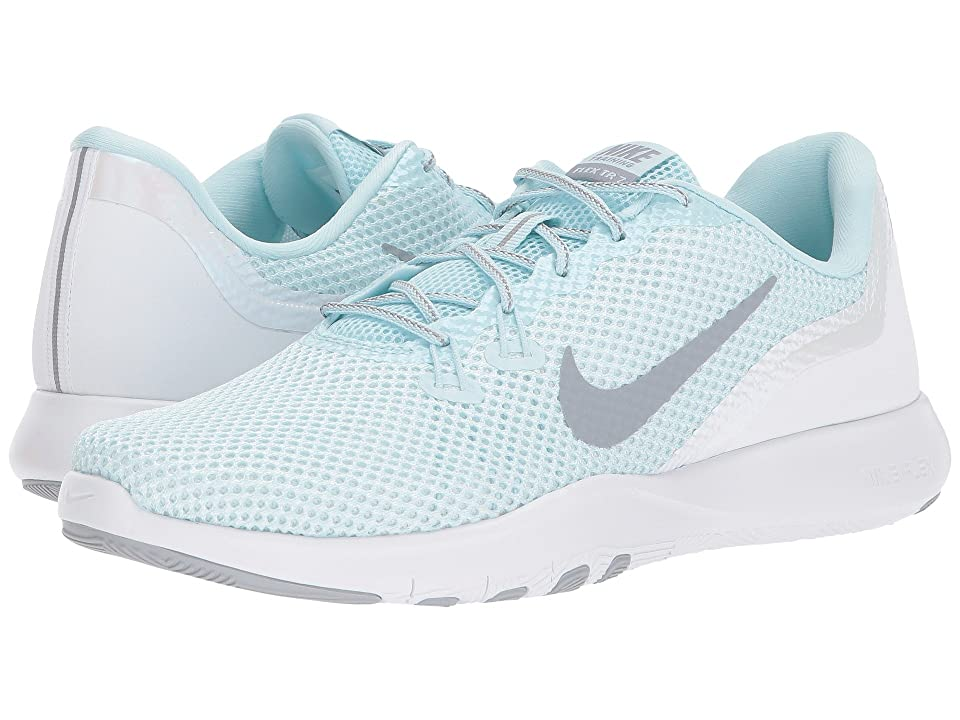 Nike Flex TR 7 (Clacier Blue/Wolf Grey/White) Women