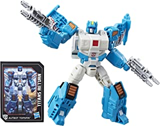 Transformers Generations Titans Return Deluxe Autobot Topspin and Freeze Out