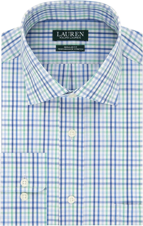 Lauren Ralph Lauren Mens UltraFlex Classic Fit Dress Shirt
