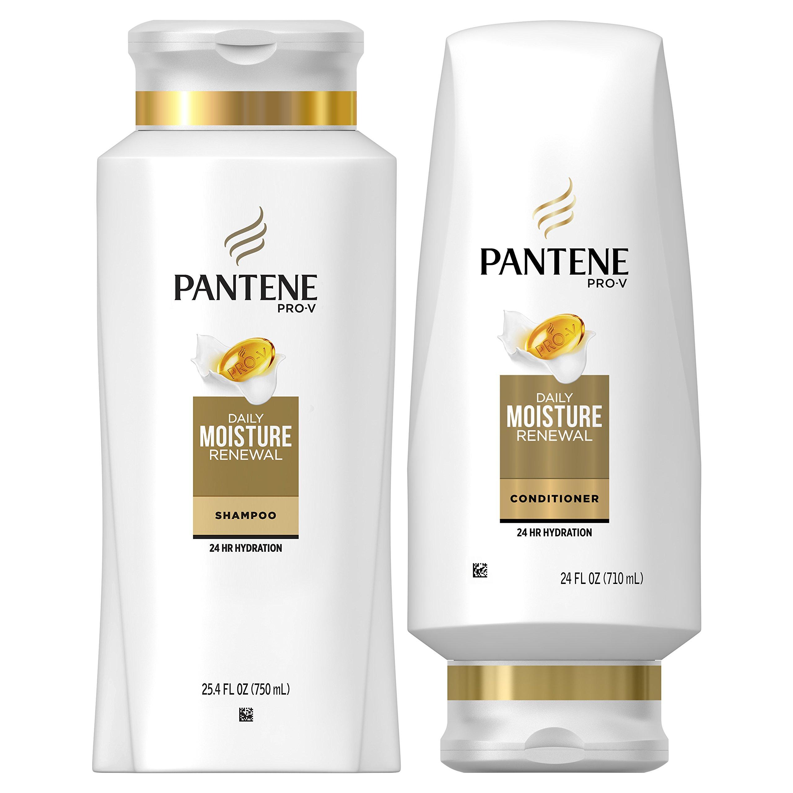 Pantene Shampoo Sulfate Conditioner Moisture