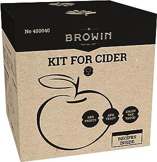 Zider 400040 Kit de démarrage pour vin à la pomme 20 l avec recette