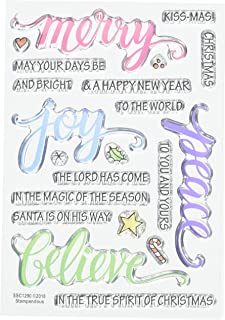 Stampendous Merry Words Clear Stamp Set