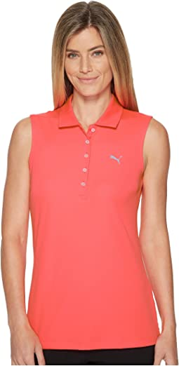 PUMA Golf Sleeveless Pounce Polo