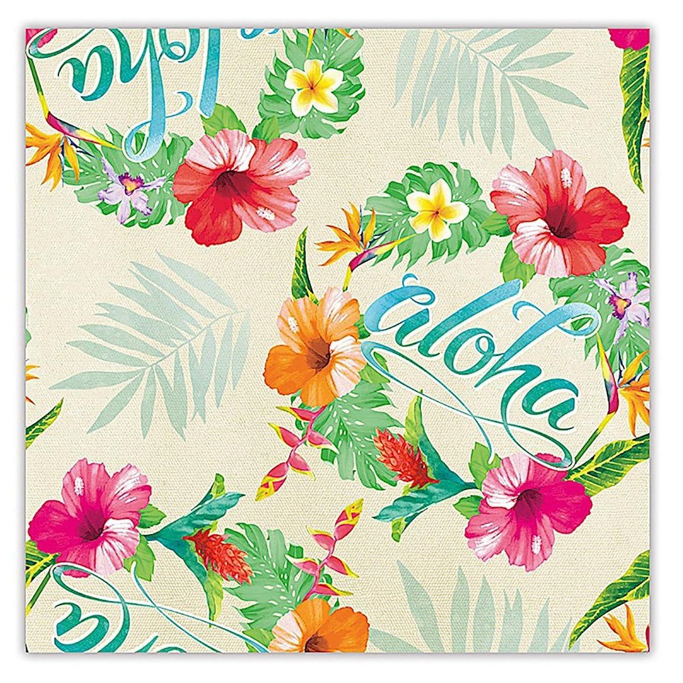 Aloha Floral Hawaiian Tropical Gift Wrap Paper / 2 Rolls v6255798811