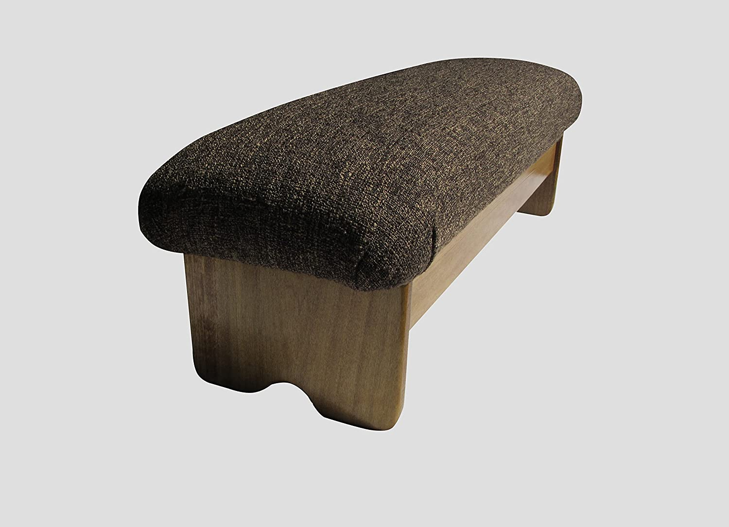 KR Ideas Bedside Padded Foot Stool Made Maple gift in Stain 9