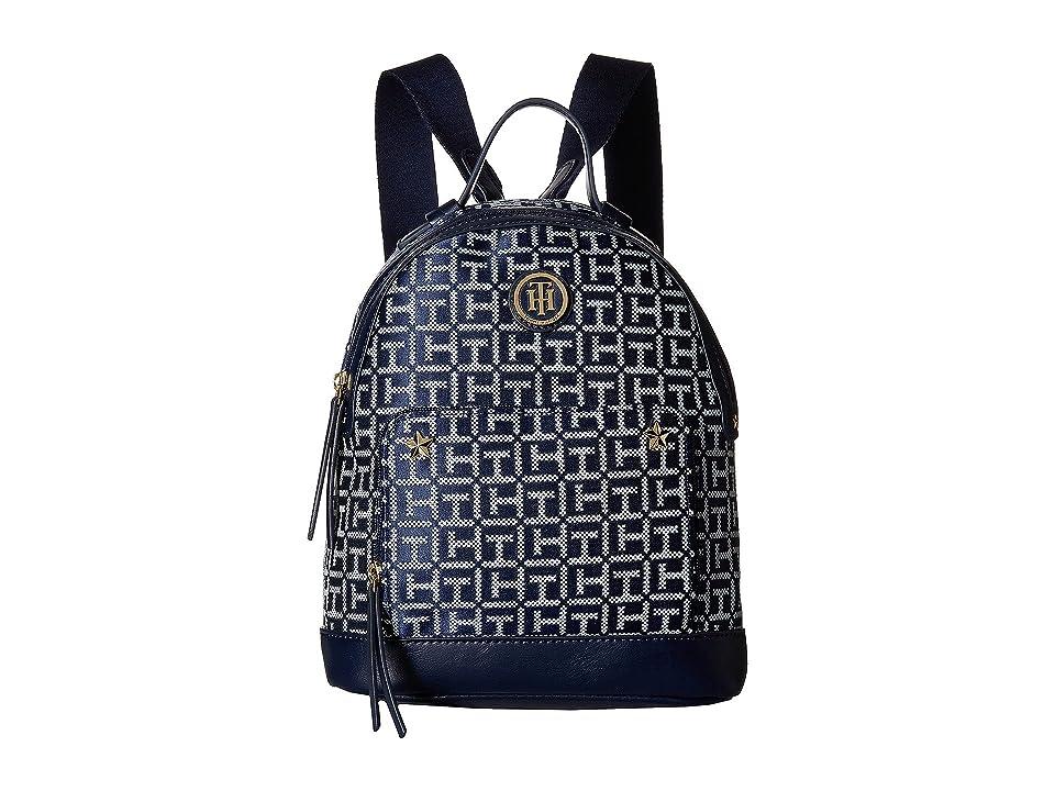 Tommy Hilfiger Emmeline II Backpack (Navy/White) Backpack Bags