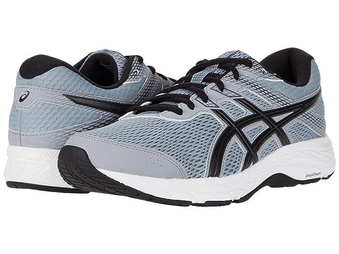 ASICS  GEL-Contend 6 (Sheet Rock/Black) Mens Running Shoes